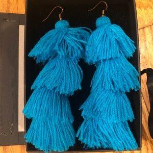Brand new Misa Los Angeles tassel earrings